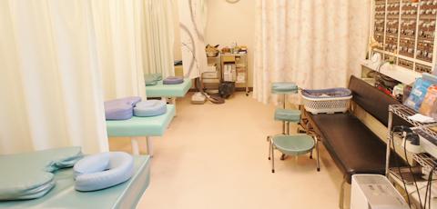 当院の施術台はこちら