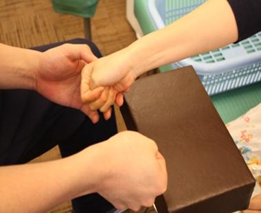 腱鞘炎 施術の流れ