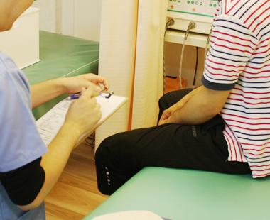 膝痛 施術の流れ